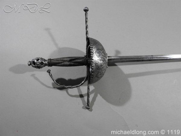 michaeldlong.com 4976 600x450 Spanish Cup Hilt Rapier c 1680