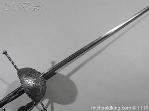 michaeldlong.com 4977 300x225 Spanish Cup Hilt Rapier c 1680