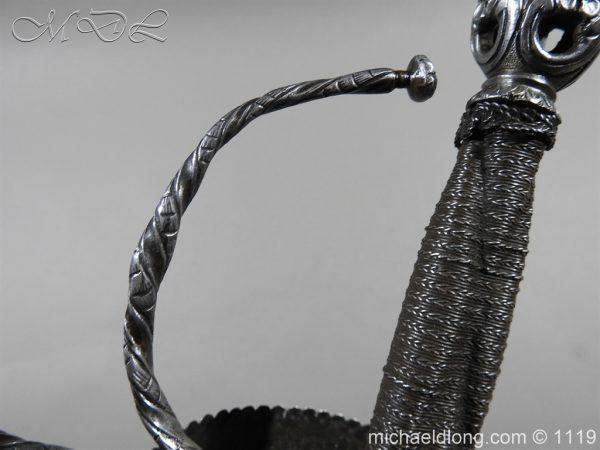 michaeldlong.com 4986 600x450 Spanish Cup Hilt Rapier c 1680