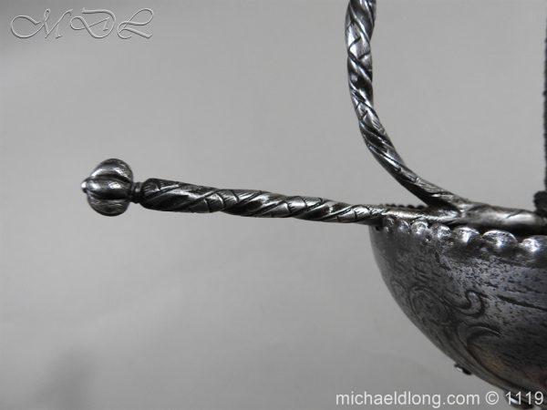 michaeldlong.com 4987 600x450 Spanish Cup Hilt Rapier c 1680