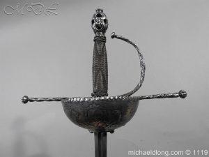 michaeldlong.com 4989 300x225 Spanish Cup Hilt Rapier c 1680