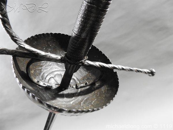 michaeldlong.com 4998 600x450 Spanish Cup Hilt Rapier c 1680