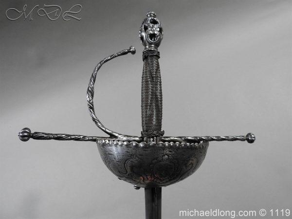michaeldlong.com 5006 600x450 Spanish Cup Hilt Rapier c 1680