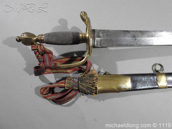 michaeldlong.com 5008 600x450 1st Royal Regiment of Foot Officer's Sword by Prosser