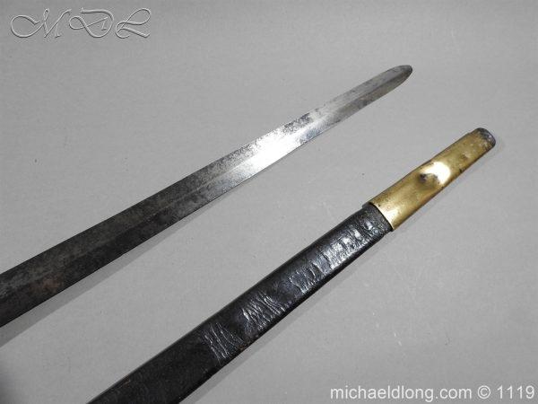 michaeldlong.com 5010 600x450 1st Royal Regiment of Foot Officer's Sword by Prosser