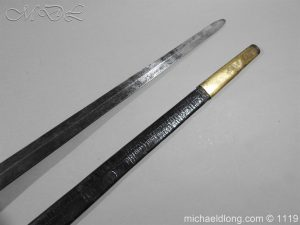michaeldlong.com 5014 300x225 1st Royal Regiment of Foot Officer's Sword by Prosser