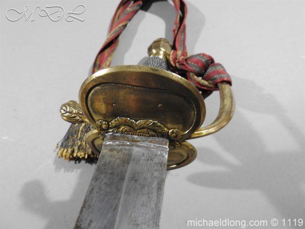 michaeldlong.com 5030 600x450 1st Royal Regiment of Foot Officer's Sword by Prosser