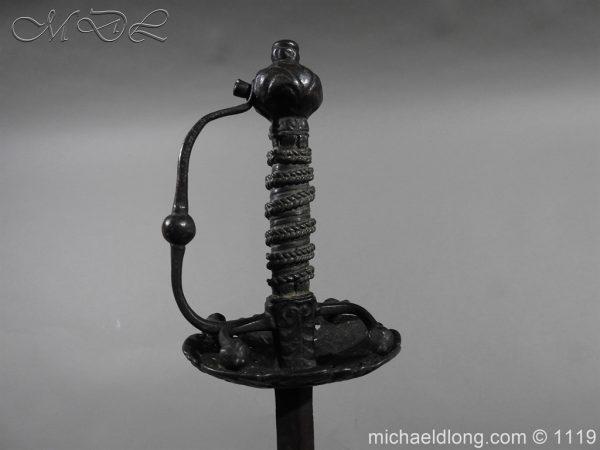 michaeldlong.com 5161 600x450 English Cup Hilt Rapier c 1630