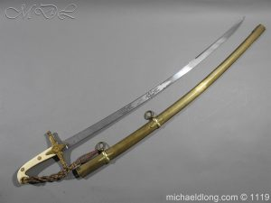 General Officer's Victorian Mameluke Sword
