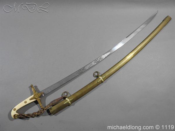 michaeldlong.com 5163 600x450 General Officer's Victorian Mameluke Sword