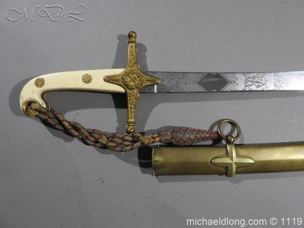 michaeldlong.com 5164 600x450 General Officer's Victorian Mameluke Sword