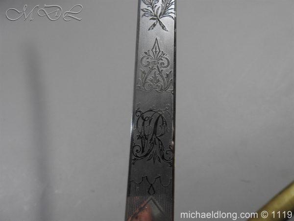 michaeldlong.com 5173 600x450 General Officer's Victorian Mameluke Sword