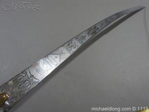 michaeldlong.com 5177 300x225 General Officer's Victorian Mameluke Sword
