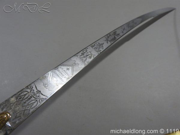 michaeldlong.com 5177 600x450 General Officer's Victorian Mameluke Sword