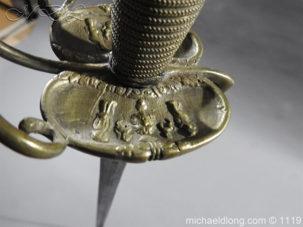 michaeldlong.com 5257 600x450 17th c Shotley Bridg Household Cavalry Sword