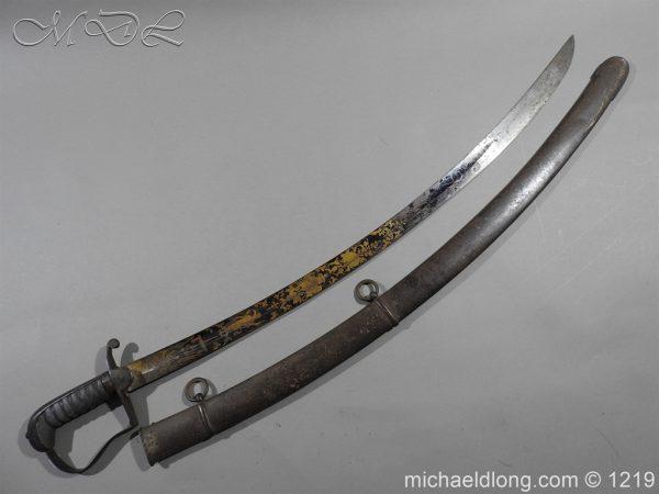 michaeldlong.com 5319 600x450 1796 Blue and Gilt Officer's Sword