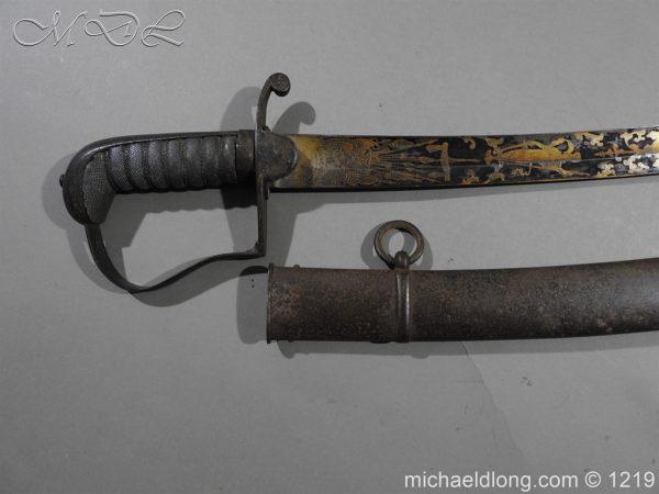 michaeldlong.com 5320 600x450 1796 Blue and Gilt Officer's Sword