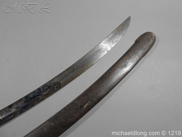 michaeldlong.com 5322 600x450 1796 Blue and Gilt Officer's Sword