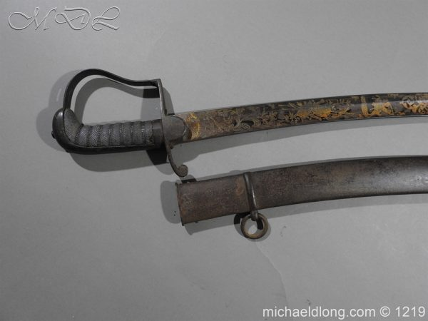 michaeldlong.com 5324 600x450 1796 Blue and Gilt Officer's Sword