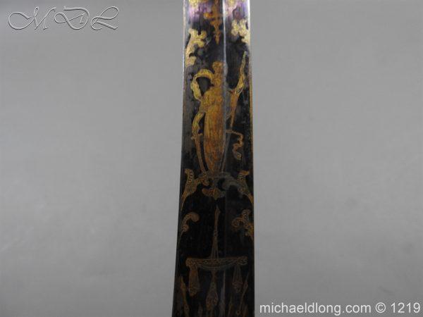 michaeldlong.com 5331 600x450 1796 Blue and Gilt Officer's Sword