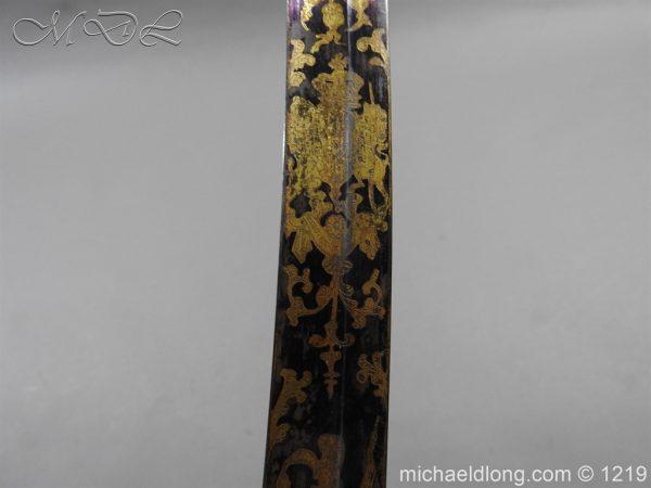michaeldlong.com 5332 600x450 1796 Blue and Gilt Officer's Sword