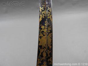 michaeldlong.com 5333 300x225 1796 Blue and Gilt Officer's Sword