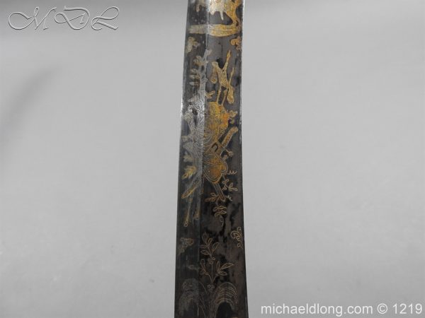 michaeldlong.com 5337 600x450 1796 Blue and Gilt Officer's Sword