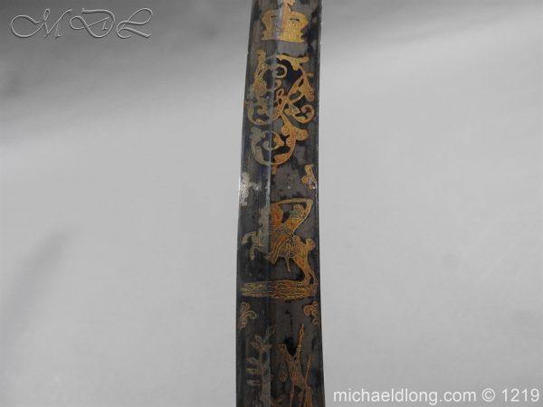 michaeldlong.com 5338 600x450 1796 Blue and Gilt Officer's Sword
