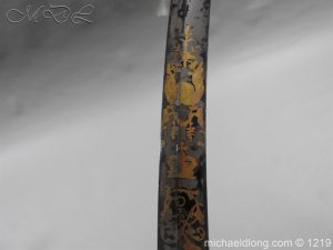michaeldlong.com 5339 300x225 1796 Blue and Gilt Officer's Sword