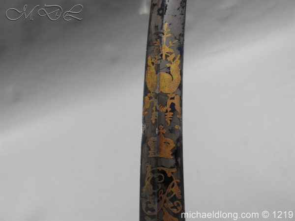 michaeldlong.com 5339 600x450 1796 Blue and Gilt Officer's Sword