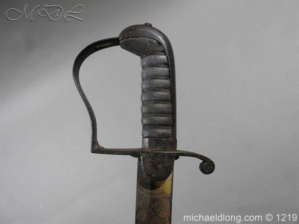 michaeldlong.com 5341 600x450 1796 Blue and Gilt Officer's Sword
