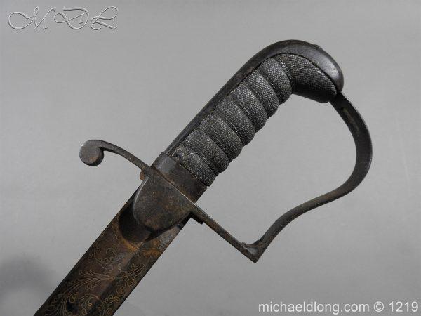 michaeldlong.com 5344 600x450 1796 Blue and Gilt Officer's Sword