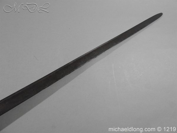 michaeldlong.com 5352 600x450 English Cavalry Sword c 1680