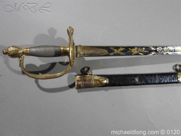 michaeldlong.com 5788 600x450 1796 British Blue and Gilt Infantry Officer's Sword