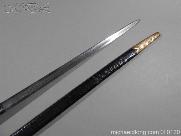 michaeldlong.com 5790 600x450 1796 British Blue and Gilt Infantry Officer's Sword
