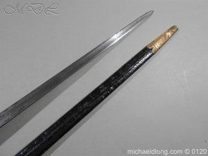 michaeldlong.com 5794 300x225 1796 British Blue and Gilt Infantry Officer's Sword