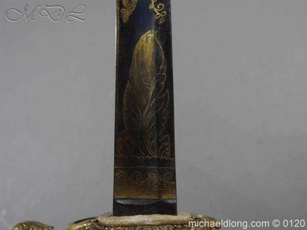 michaeldlong.com 5801 600x450 1796 British Blue and Gilt Infantry Officer's Sword