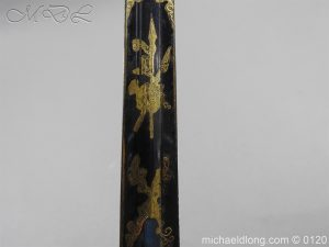 michaeldlong.com 5802 300x225 1796 British Blue and Gilt Infantry Officer's Sword