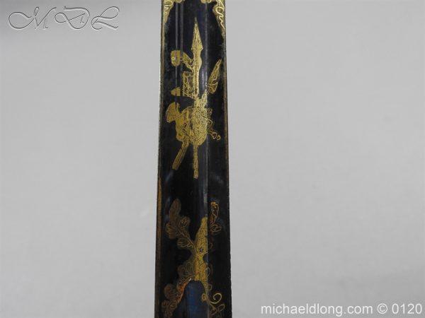 michaeldlong.com 5802 600x450 1796 British Blue and Gilt Infantry Officer's Sword