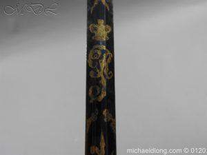 michaeldlong.com 5803 300x225 1796 British Blue and Gilt Infantry Officer's Sword