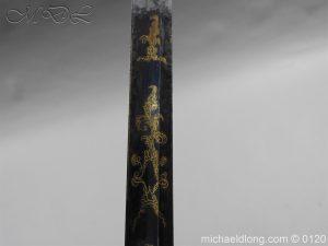 michaeldlong.com 5804 300x225 1796 British Blue and Gilt Infantry Officer's Sword