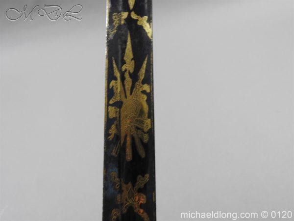 michaeldlong.com 5808 600x450 1796 British Blue and Gilt Infantry Officer's Sword