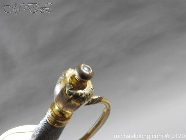 michaeldlong.com 5819 600x450 1796 British Blue and Gilt Infantry Officer's Sword