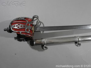 michaeldlong.com 5858 300x225 Scottish Victorian Military Basket Hilted Sword