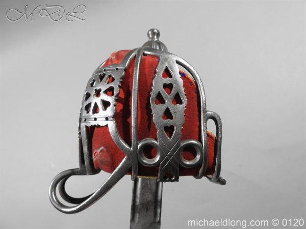michaeldlong.com 5874 600x450 Scottish Victorian Military Basket Hilted Sword