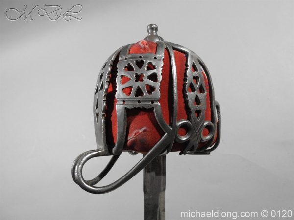 michaeldlong.com 5876 600x450 Scottish Victorian Military Basket Hilted Sword
