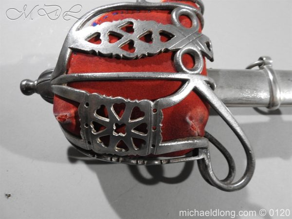 michaeldlong.com 5878 600x450 Scottish Victorian Military Basket Hilted Sword