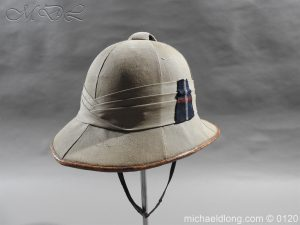 Highland Light Infantry Officer's Wolseley Helmet