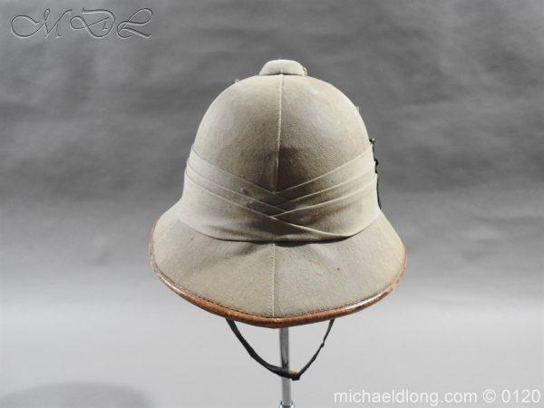 michaeldlong.com 5925 600x450 Highland Light Infantry Officer's Wolseley Helmet