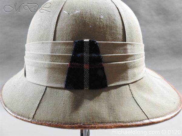 michaeldlong.com 5929 600x450 Highland Light Infantry Officer's Wolseley Helmet